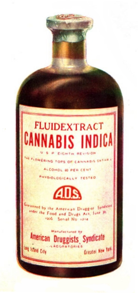 cannabis tincture history
