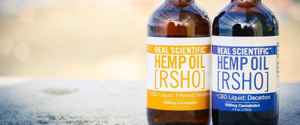 Hemp CBD oil products