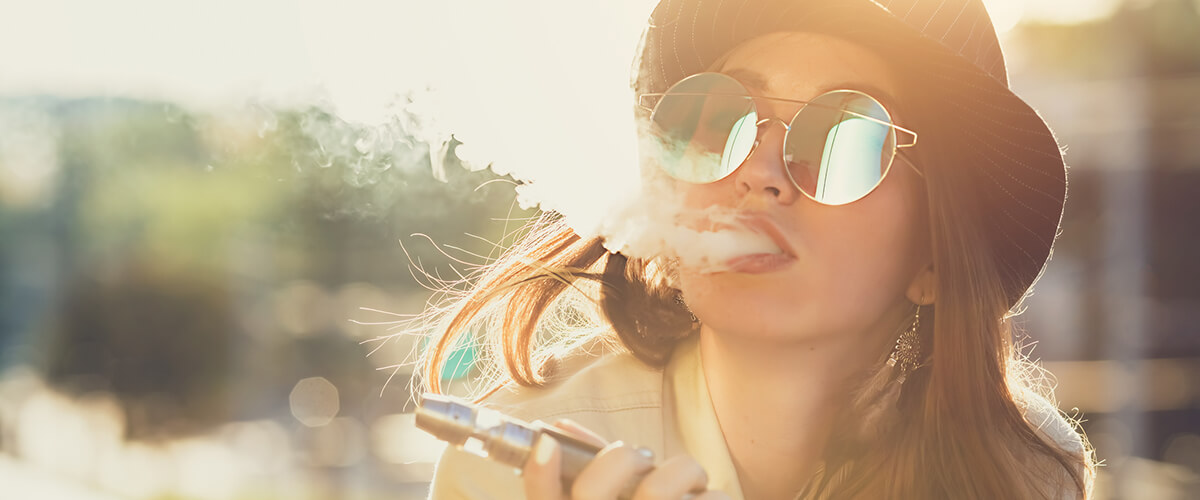 vaping thc stays in system