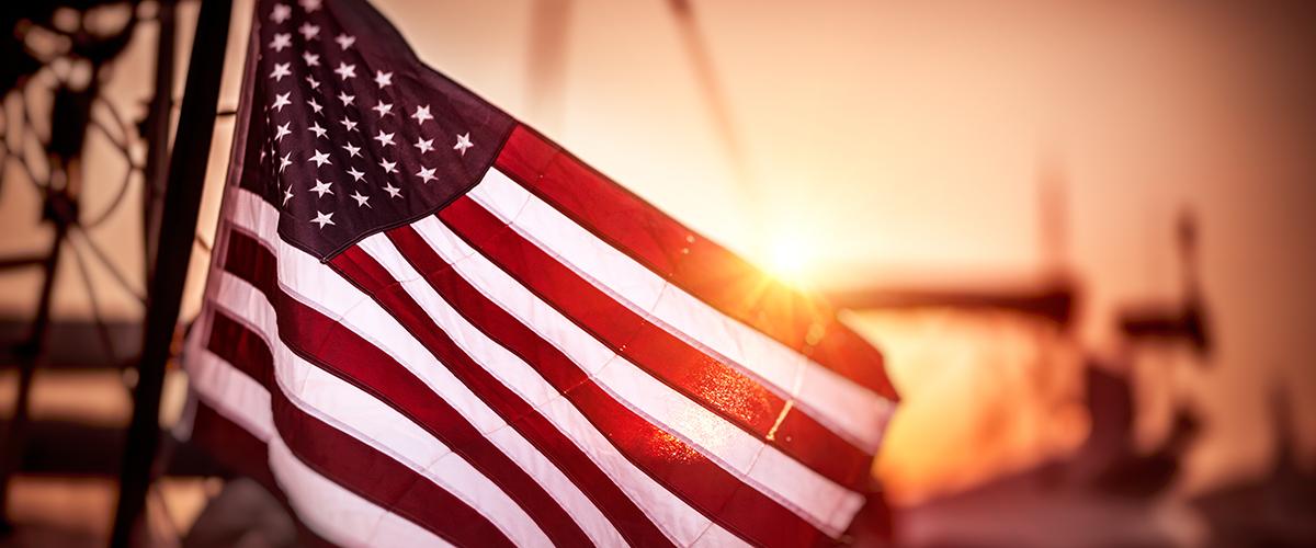 American Flag - Stance on Marijuana