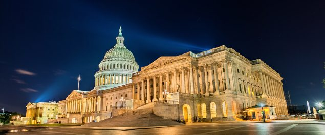Congress Marijuana Justice Act - Image of Capital Building
