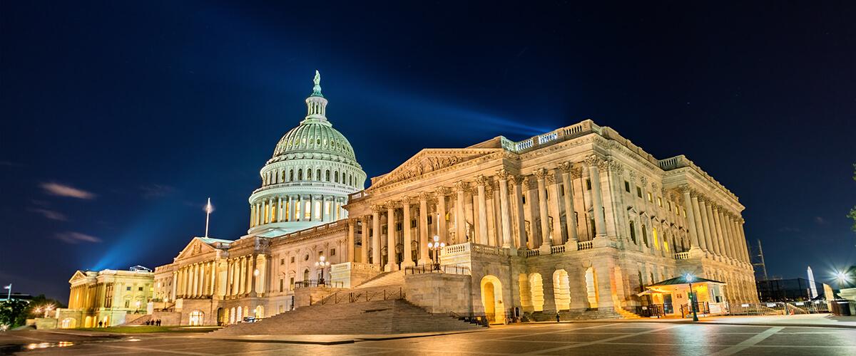 Congress Marijuana Justice Act - Image of Capital Building